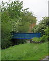SK5443 : Highbury Vale: bridge over the River Leen by John Sutton