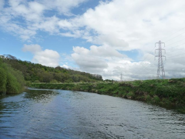 River Avon between Cleeve Wood and Keysham Hams