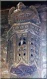 SO7937 : Bracketted niche, St Gregory's, Castlemorton by Bob Embleton
