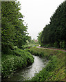 SK5444 : The River Leen south of Bulwell by John Sutton