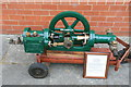SJ8233 : Mill Meece pumping Station - steam pump by Chris Allen