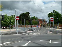 SK5236 : Devonshire Avenue junction with Chilwell Road by Alan Murray-Rust