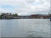ST5772 : Bristol's Floating Harbour, near Underfall Yard by Christine Johnstone