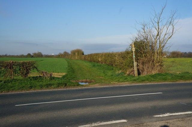 Bridleway of Holmes Lane, Bilton