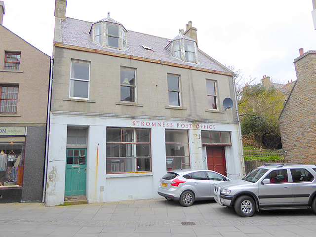 Stromness Post Office (as was)