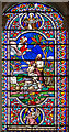 SK8190 : Stained glass window, All Saints' church, Gainsborough by J.Hannan-Briggs