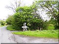 SN0310 : Martletwy Village Sign by welshbabe