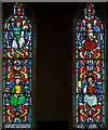 SK9398 : Stained glass window, St Andrew's church, Kirton in Lindsey by Julian P Guffogg
