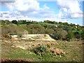 SX3571 : Site of Redmoor mine by Des Blenkinsopp