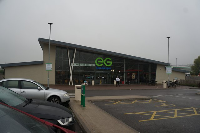 Rivington Services on the M61 Northbound