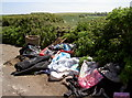 ST5966 : Flytipping - again by Neil Owen