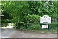 ST4609 : Sign for Perrott Hill School, North Perrott, Somerset by Becky Williamson