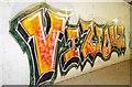 TQ5494 : Graffiti On Writghtsbridge Road by Glyn Baker