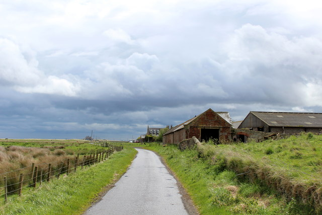 Passing the Farm at Goswick