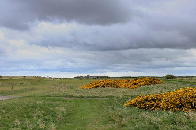 Hole 11, Goswick Golf Course