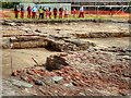 SD7907 : Radcliffe Tower Archaeological Excavation Open Day, May 2015 by David Dixon