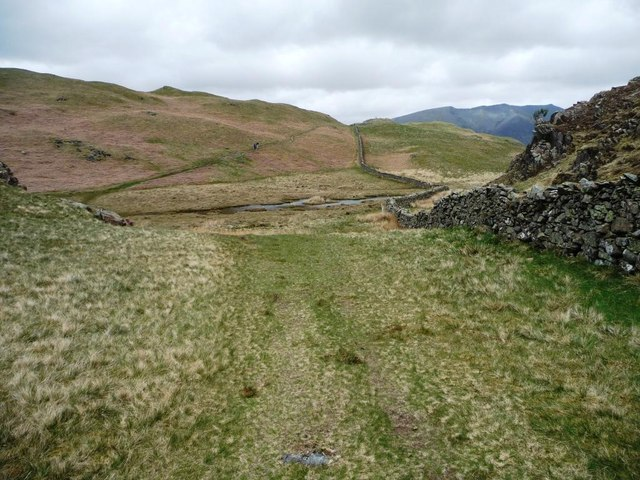 Collects creating a boggy tarn on High Rigg