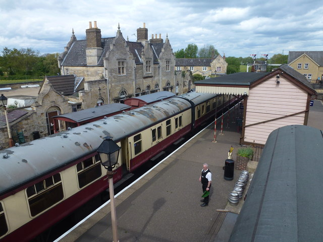 """""""The train now leaving Wansford Station..."""""""