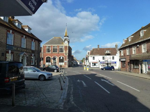 Wareham town centre