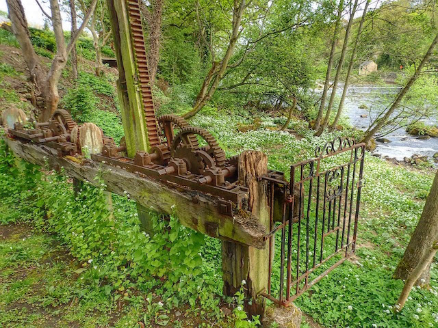 Gate Mechanism for a Mill Race