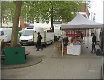 SU6351 : French market - Top of Town by Sandy B