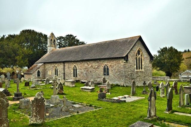 St Cattwg, Llanspyddid