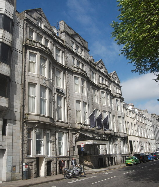Thistle Caledonian Hotel, Union Terrace, Aberdeen