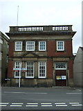 SK4003 : Bank building, Market Bosworth by JThomas