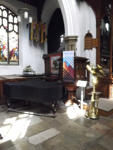 Pulpit & Lectern of St.Mary the Virgin Church