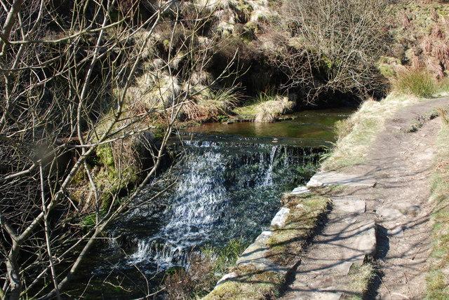 Stream at Ogden Clough