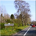 SJ5143 : Village sign for Grindley Brook by David Smith