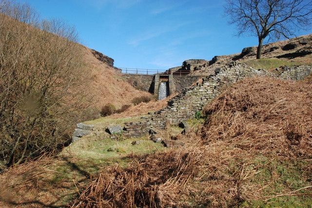 Ogden Clough footbridge