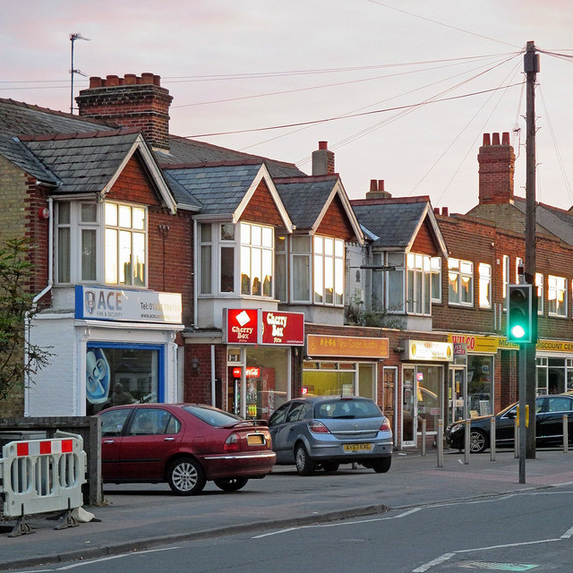 Shops on Cherry Hinton Road