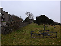 SD2277 : St Michael and All Angels, Ireleth: churchyard (2) by Basher Eyre