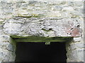 NN0031 : Oak lintel at Bonawe Iron Furnace by M J Richardson