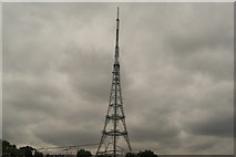 TQ3370 : View of the Crystal Palace TV transmitter from Crystal Palace Park #5 by Robert Lamb