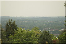 TQ3370 : View of the southeast from the Crystal Palace terrace #18 by Robert Lamb