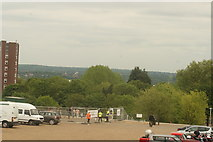 TQ3370 : View of the southeast from the Crystal Palace terrace #25 by Robert Lamb