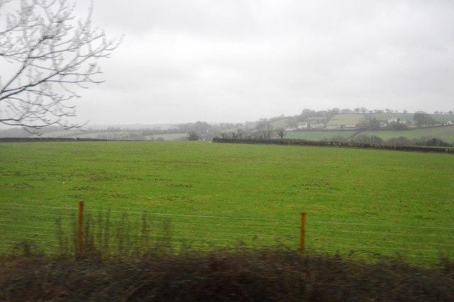 Farmland near Lower Venton Farm