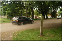 TQ3370 : View of a BMW leaving Crystal Palace Park by Robert Lamb