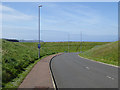 NT9464 : Harbour Access Road, Eyemouth by Oliver Dixon