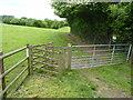 SO7966 : Footpath gate by Jeff Gogarty