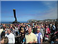SH7882 : The Crowded South Parade at Llandudno by Jeff Buck