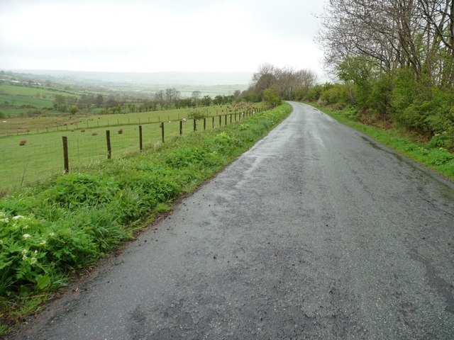 The road to Uldale