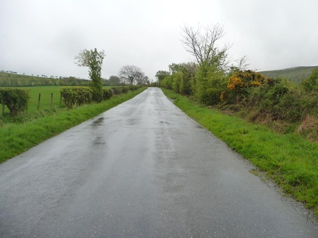 The road from Uldale, looking south-west
