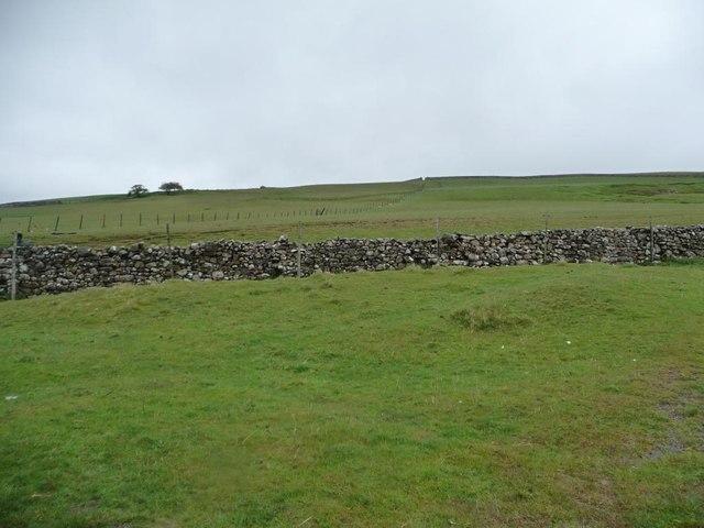 Farmland outside the open access area