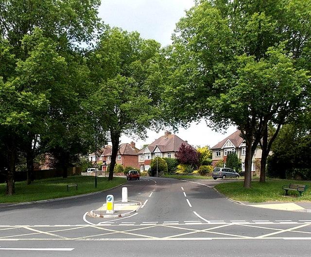 Leafy suburb in Dorchester