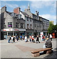 NJ9406 : St Nicholas pedestrian precinct, Aberdeen by Bill Harrison