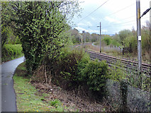 NS4274 : National Cycle Network Route 7 at Milton by Thomas Nugent
