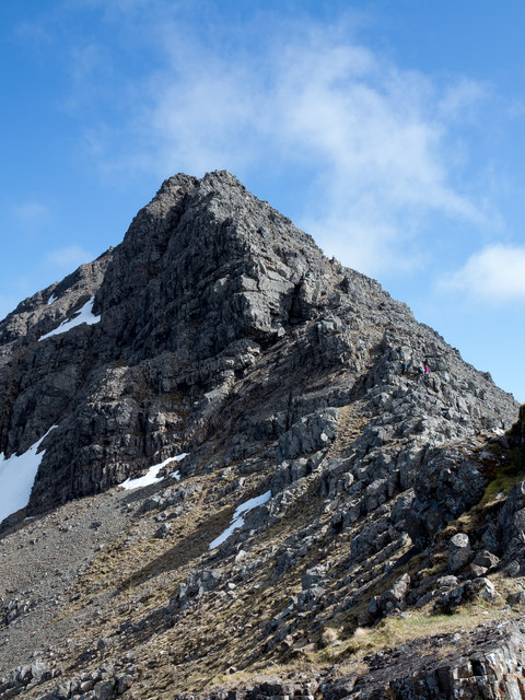 Ridge rising to Bruach na Frithe